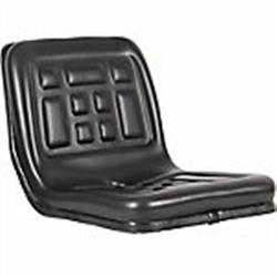 Compact Tractor Seat - Black