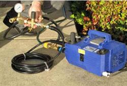 Complete Hydro Compact Pipe Tester Package