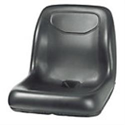 Deluxe Ultra High Back Seat - Black