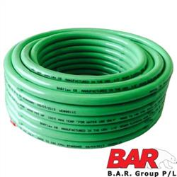 "1/2"" Poly Jetter Hose Assy - Green 4000 PSI"