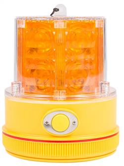 LED Magnetic Amber Beacon Light
