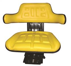 Universal Tractor Seat - Yellow