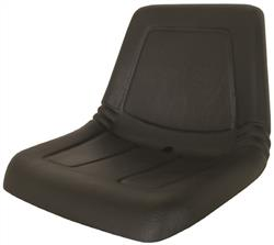 Deluxe High Back Lawn & Garden Seat - Black
